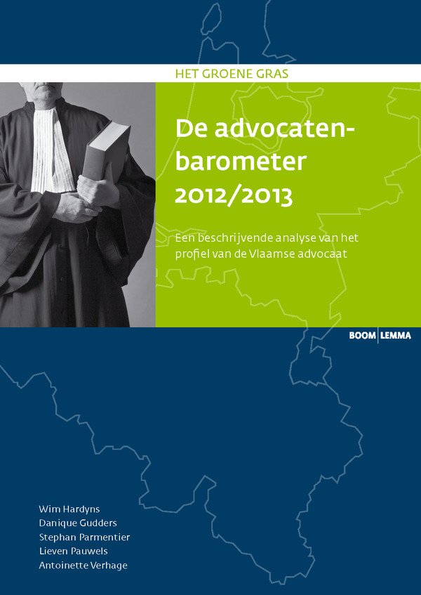 De advocatenbarometer 2012/2013