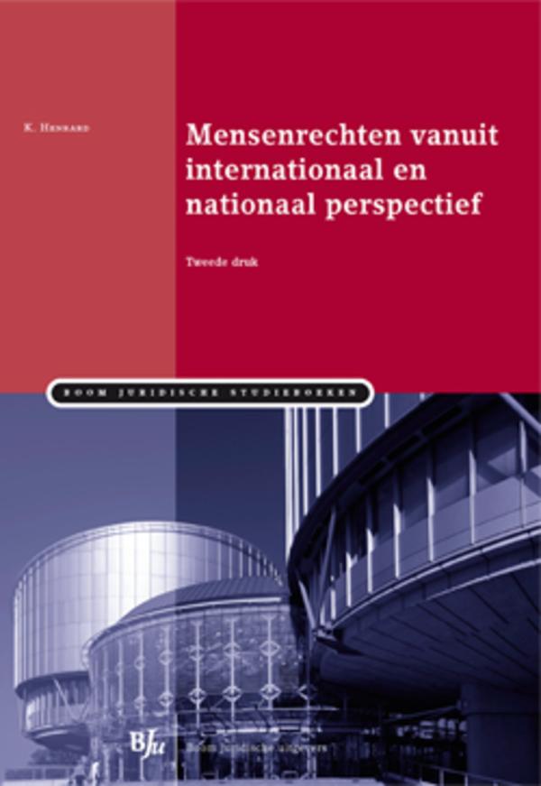 Mensenrechten vanuit internationaal en nationaal perspectief