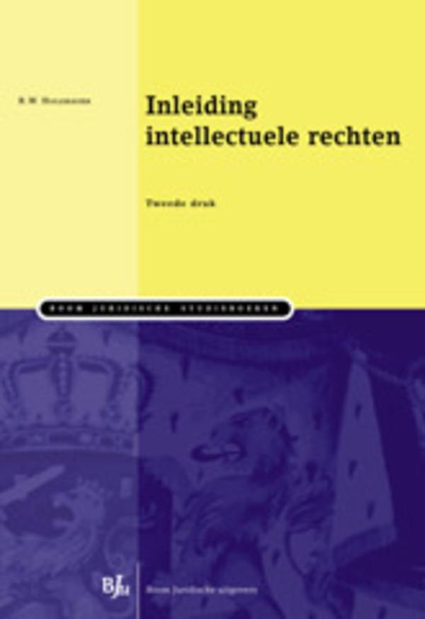 Inleiding intellectuele rechten