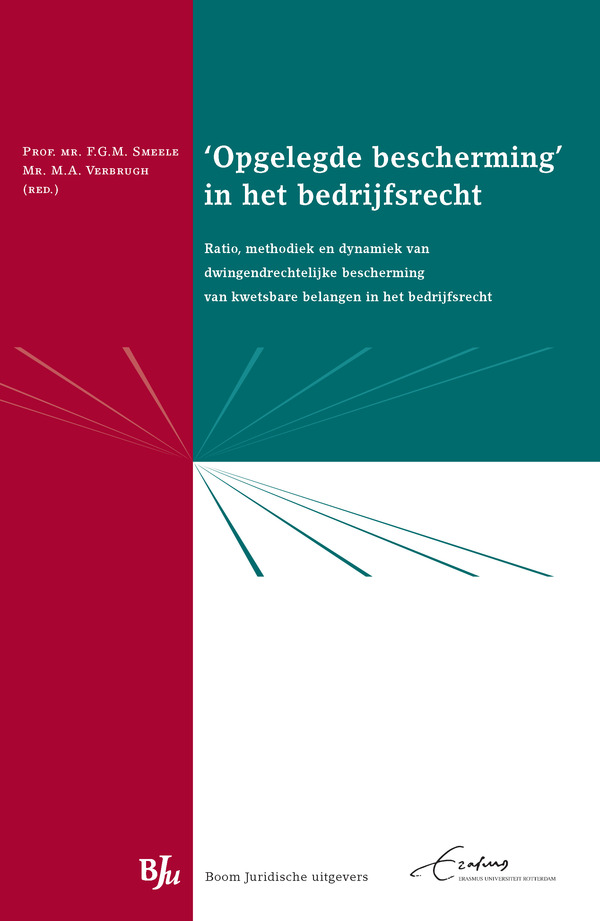 Erasmus Law Lectures 'Opgelegde bescherming' in het bedrijfsrecht