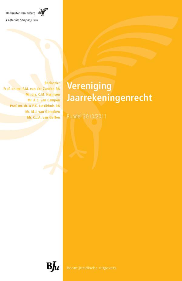 Vereniging Jaarrekeningenrecht - Bundel 2010/2011