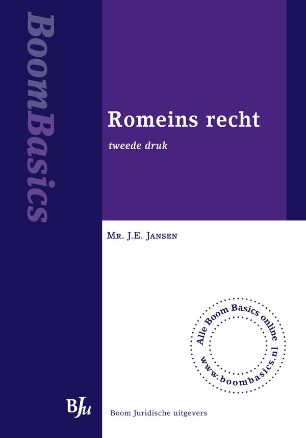 Boom Basics Romeins recht