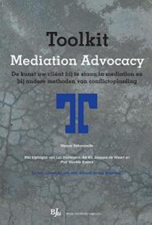 Toolkit Mediation Advocacy