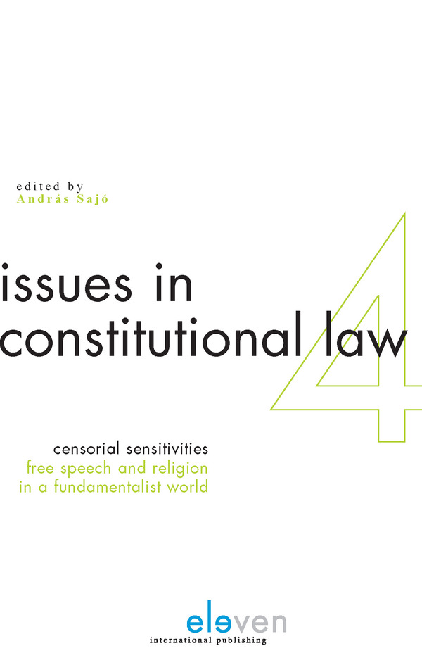 Censorial Sensitivities: Free Speech and Religion in a Fundamentalist World