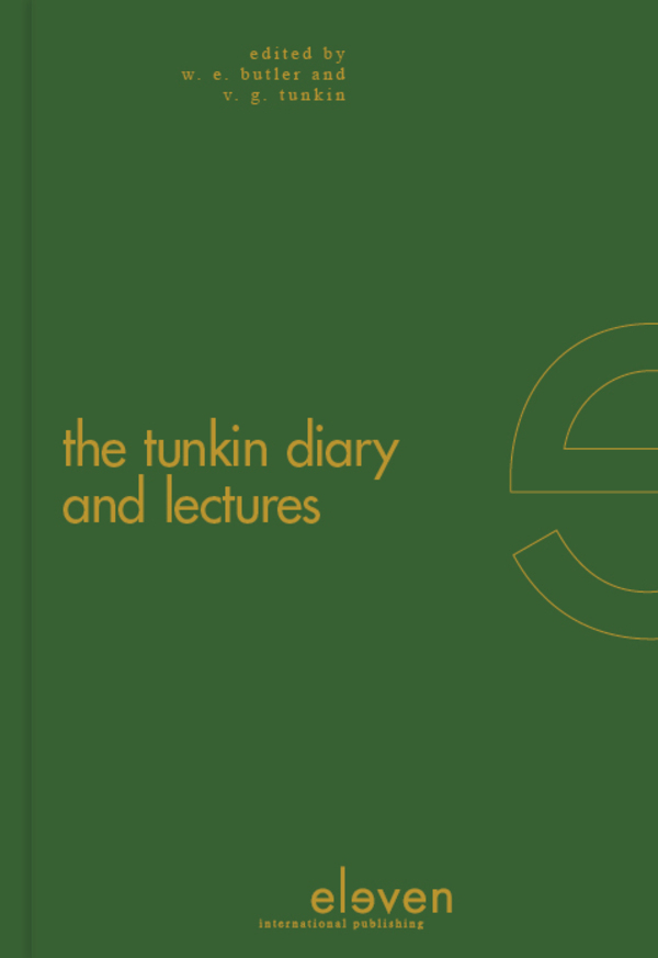 The Tunkin Diary and Lectures