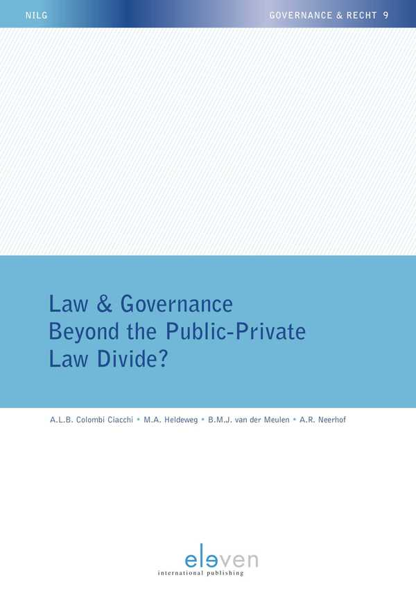 Law & Governance - Beyond the Public-Private Law Divide?