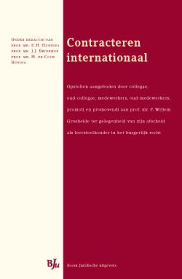 Contracteren internationaal