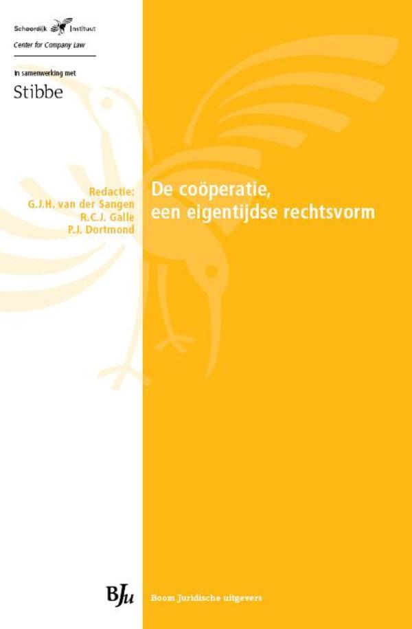 De cooperatie, een eigentijdse rechtspersoon