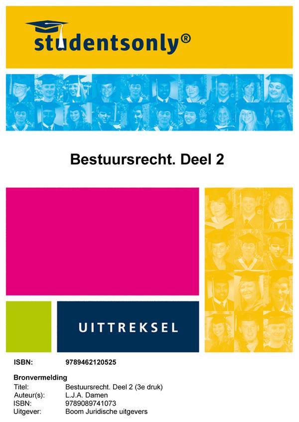 Boom Juridische studieboeken Bestuursrecht Bestuursprocesrecht