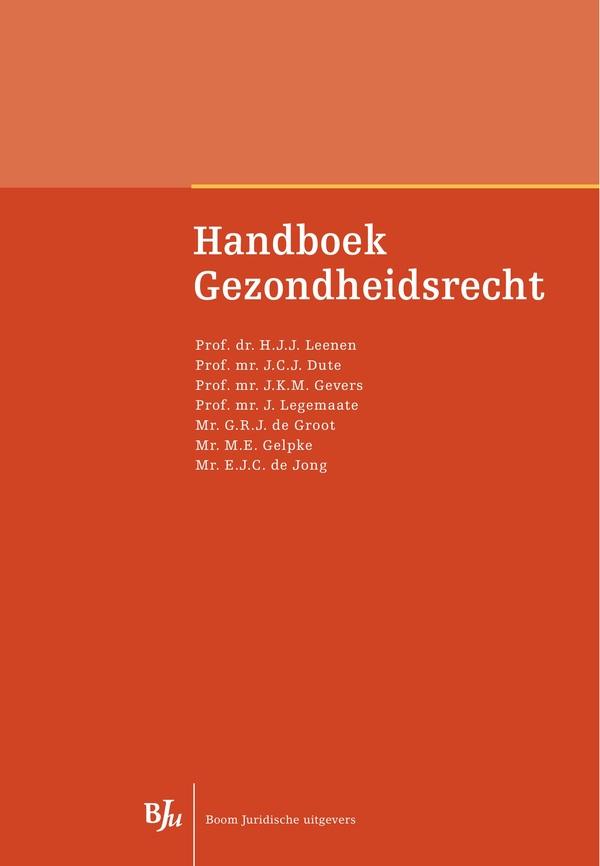 Handboek Gezondheidsrecht