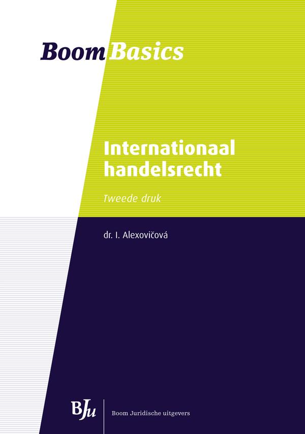 Boom Basics Internationaal handelsrecht