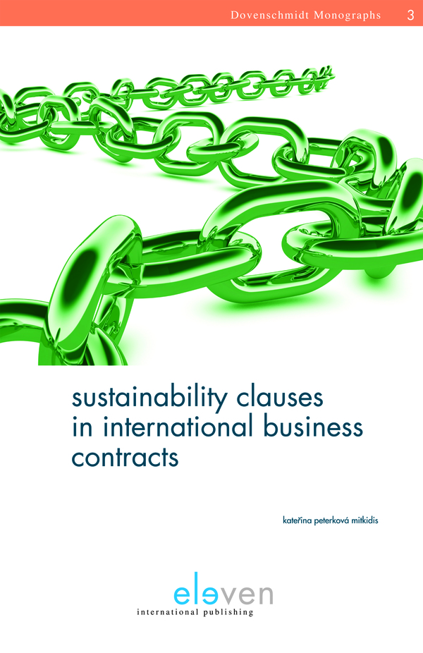 Sustainability Clauses in International Business Contracts