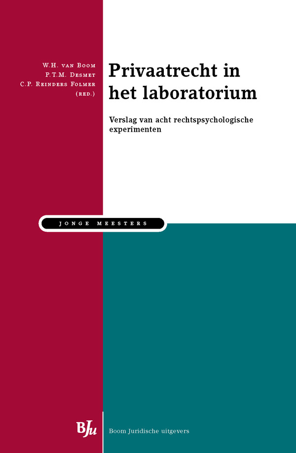 Privaatrecht in het laboratorium