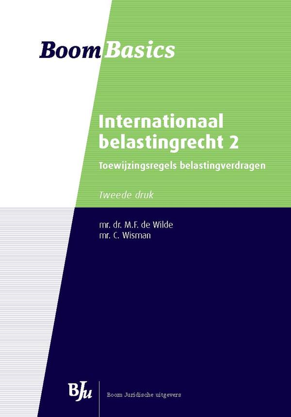 Boom Basics Internationaal belastingrecht 2