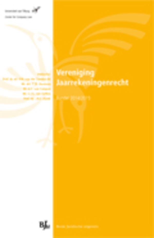 Vereniging Jaarrekeningenrecht - Bundel 2014-2015