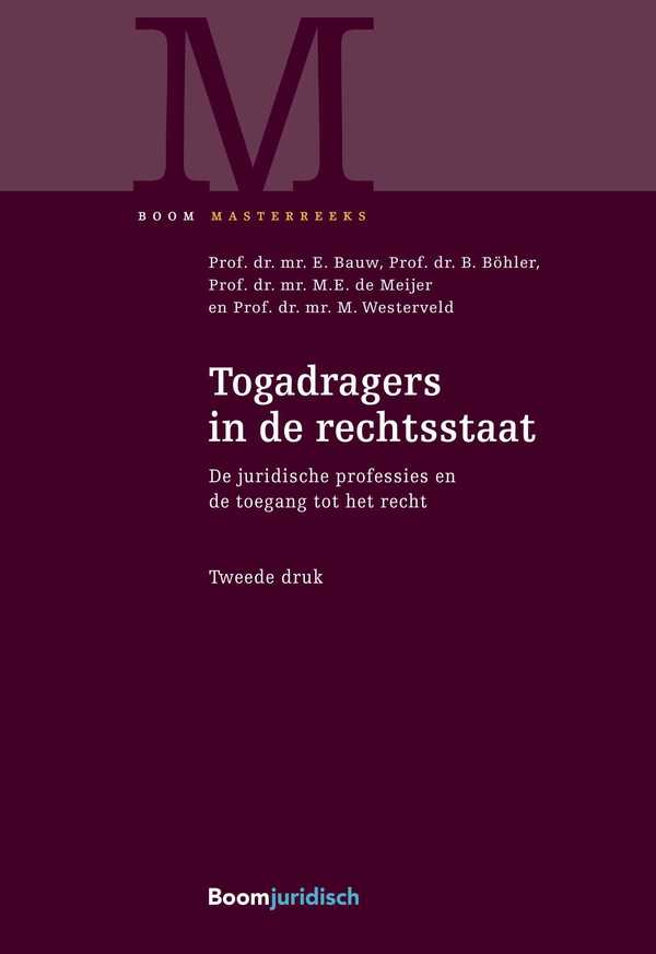 Togadragers in de rechtsstaat