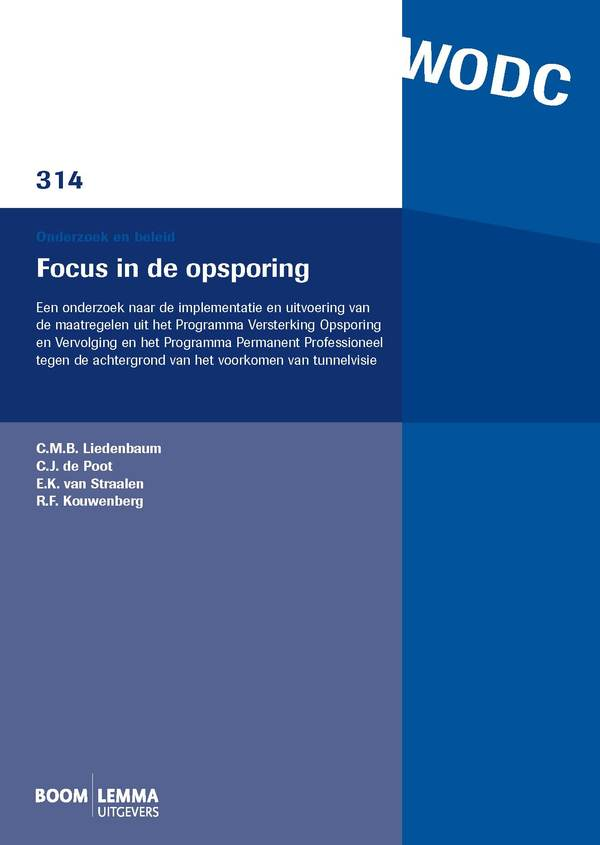 Focus in de opsporing