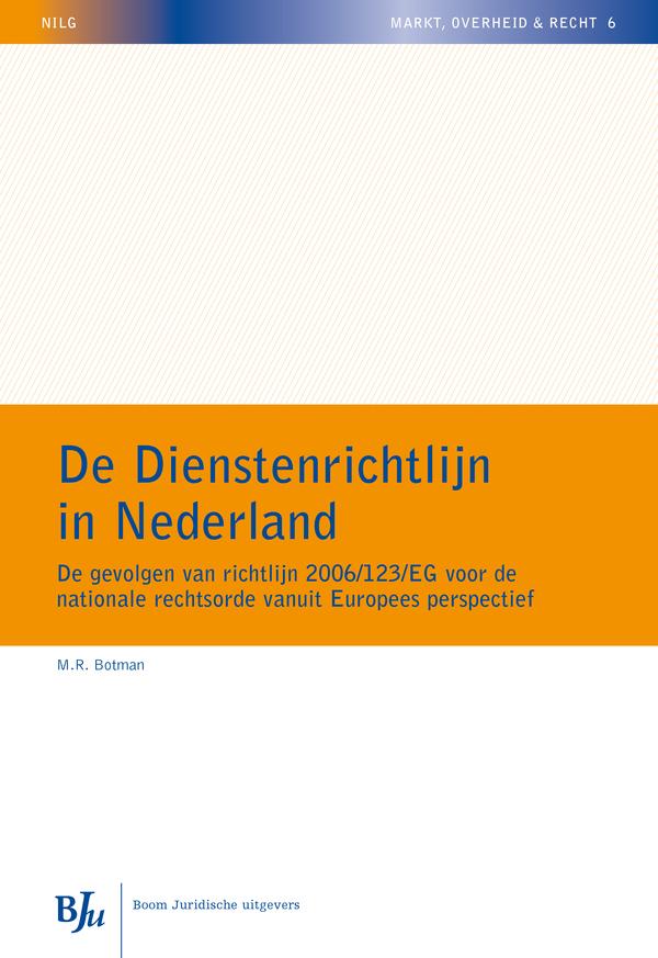 De Dienstenrichtlijn in Nederland