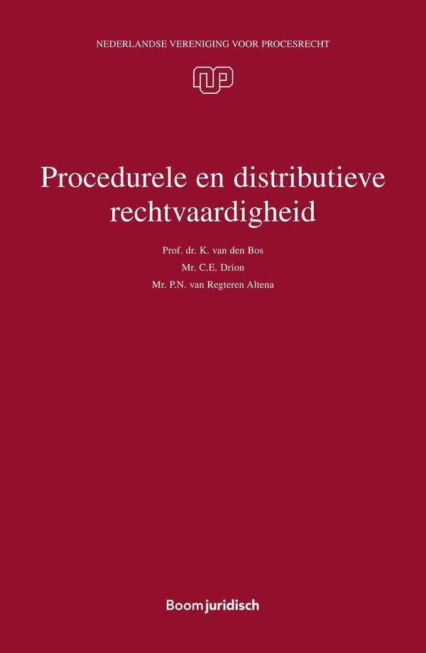 Procedurele en distributieve rechtvaardigheid