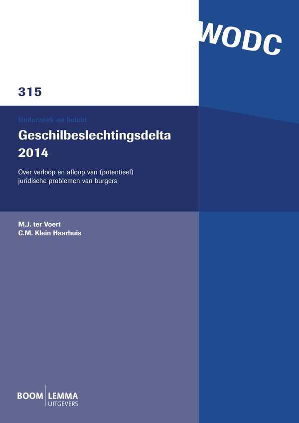 Geschilbeslechtingsdelta 2014