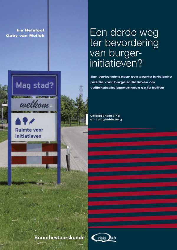 Een derde weg ter bevordering van burgerinitiatieven?