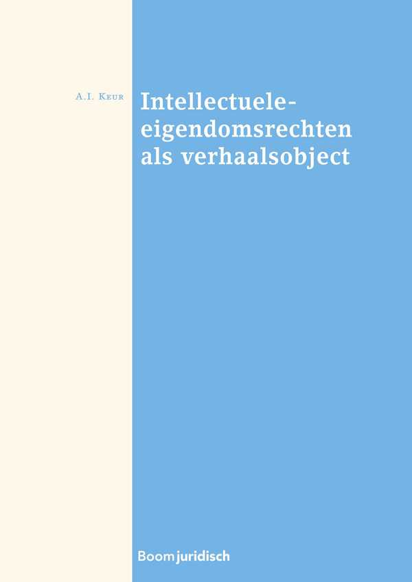 Intellectuele-eigendomsrechten als verhaalsobject