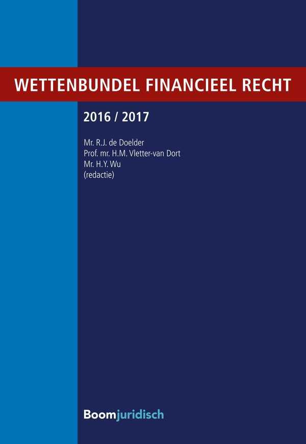Wettenbundel financieel recht 2016/2017