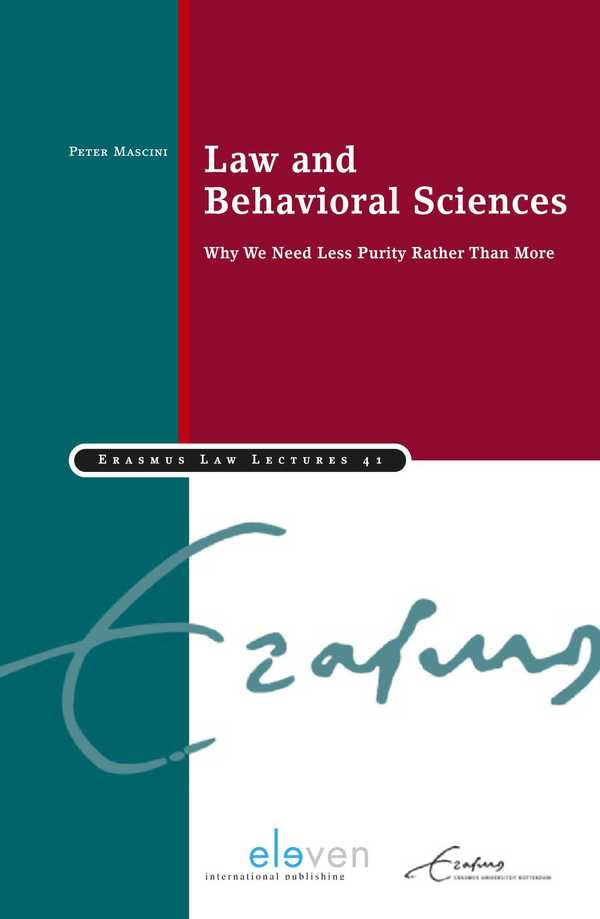 Law and Behavioral Sciences