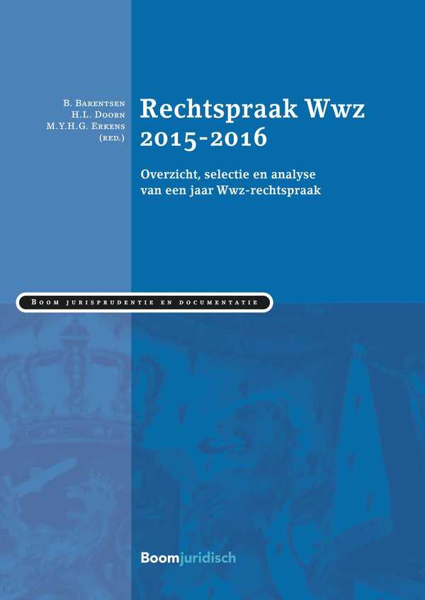 Rechtspraak Wwz 2015-2016