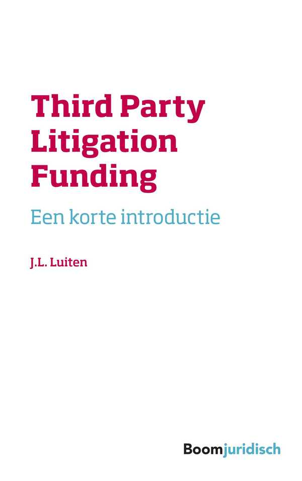 Third Party Litigation Funding