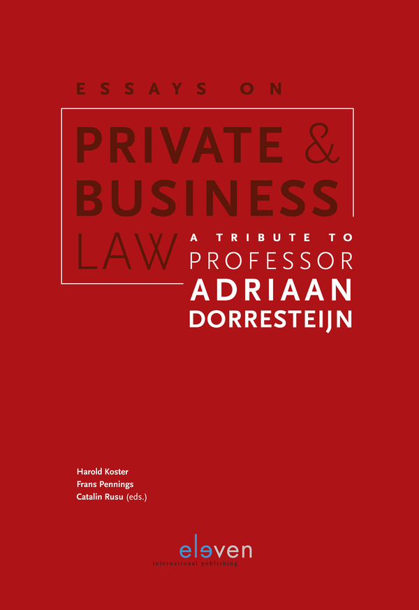 business law essays  pinarkubkireklamoweco eleven international publishing essays on private and business law