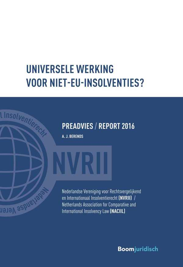 Universele werking voor niet-EU-insolventies?