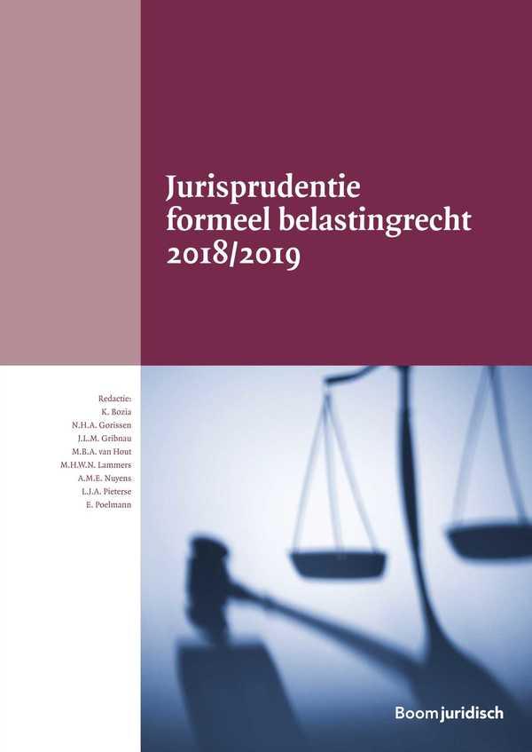 Jurisprudentie formeel belastingrecht 2018/2019