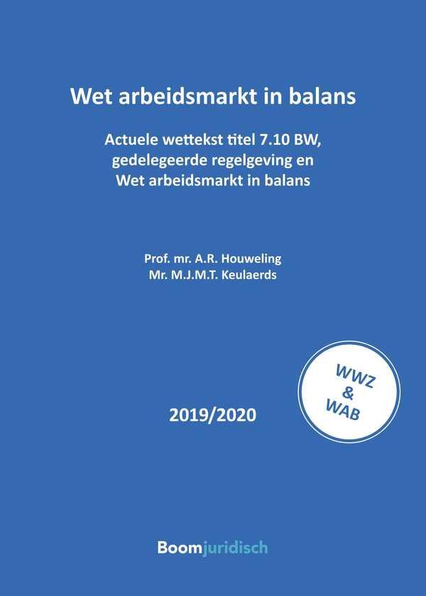 Wet arbeidsmarkt in balans