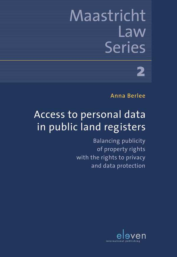 Access to Personal Data in Public Land Registers