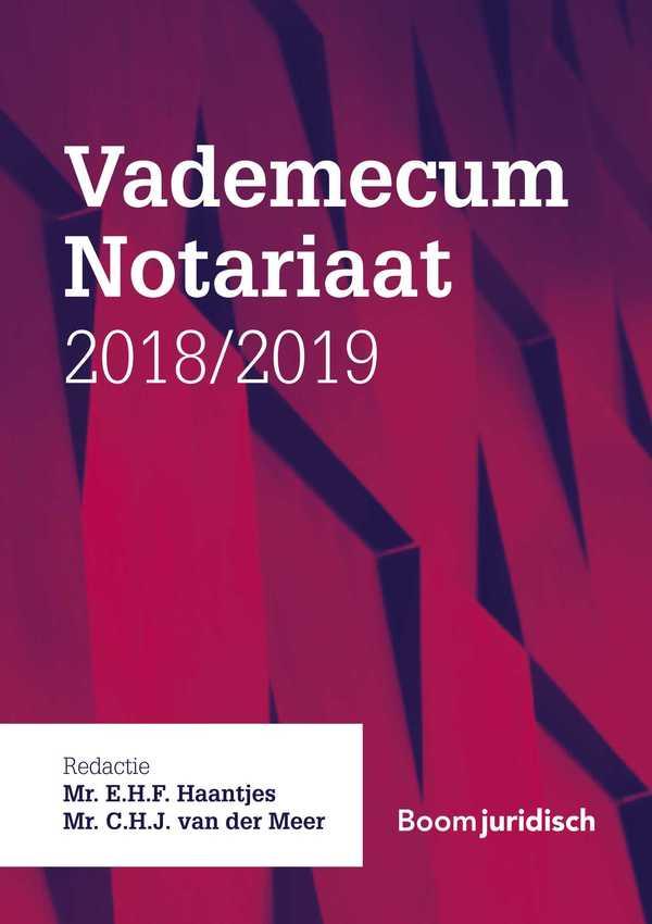 Vademecum Notariaat 2018/2019