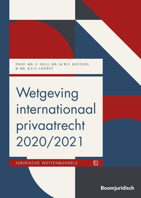 Wetgeving internationaal privaatrecht 2020/2021