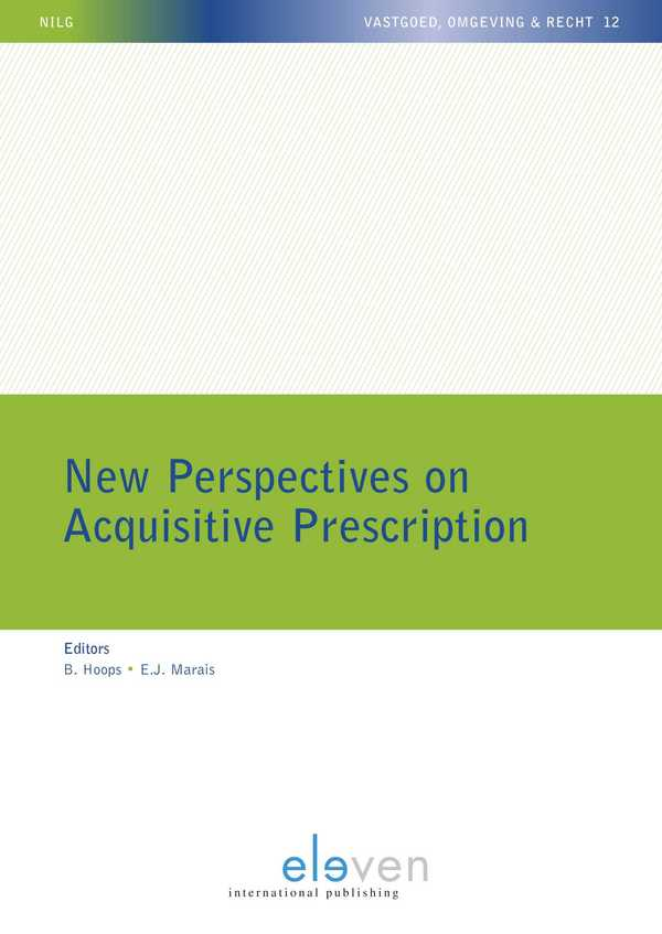 New Perspectives on Acquisitive Prescription