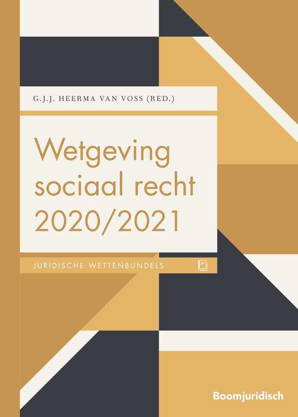 Wetgeving sociaal recht 2020/2021