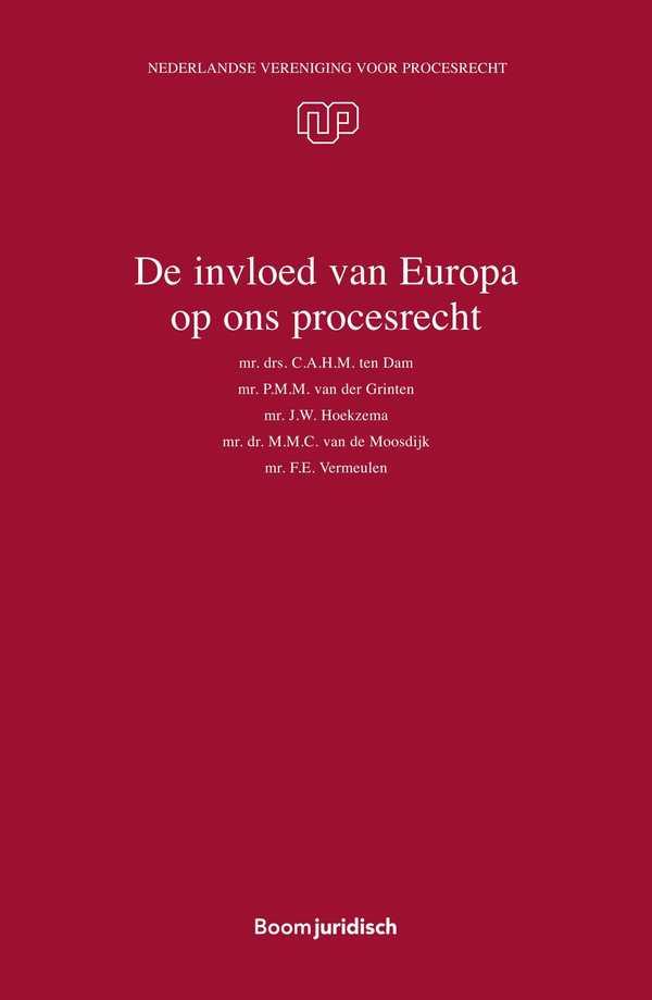 De invloed van Europa op ons procesrecht