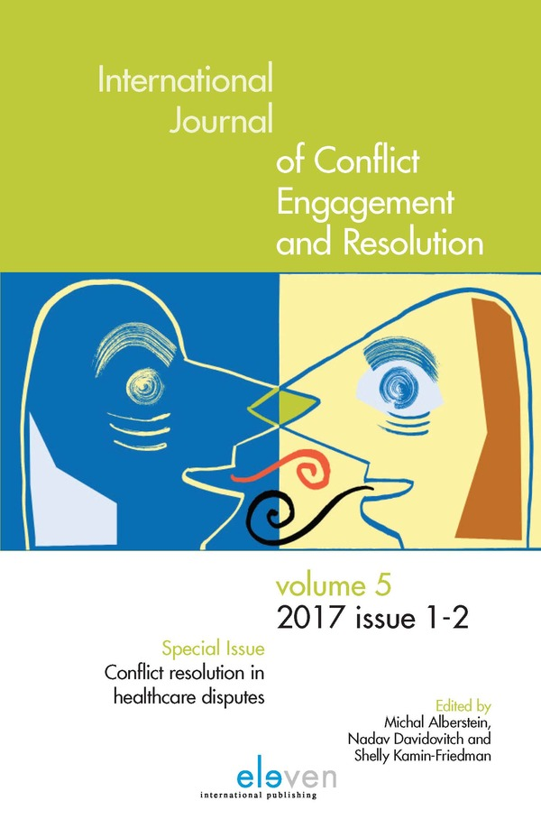 International Journal of Conflict Engagement and Resolution (IJCER)