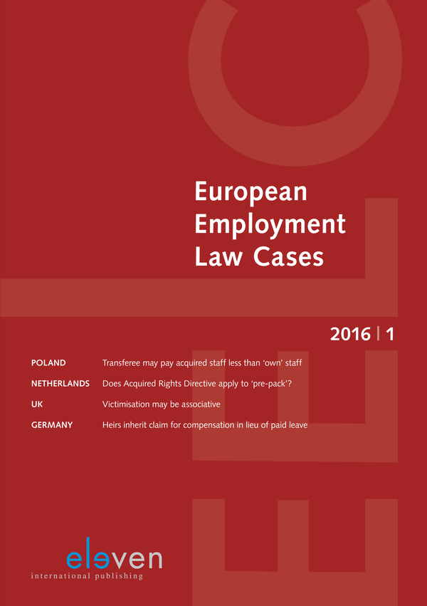 European Employment Law Cases (EELC)