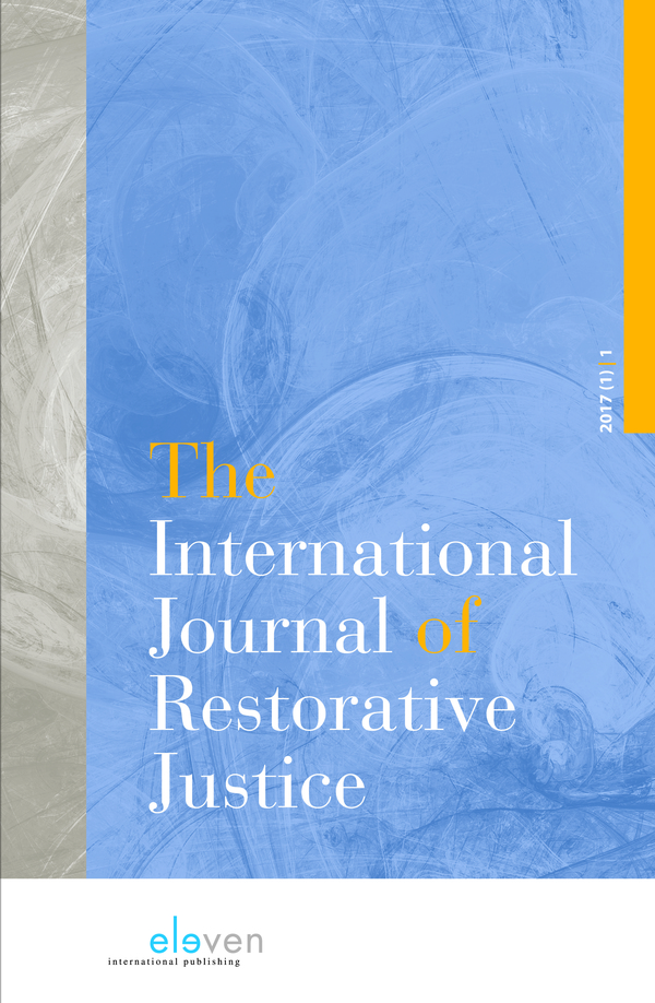 The International Journal of Restorative Justice (IJRJ)