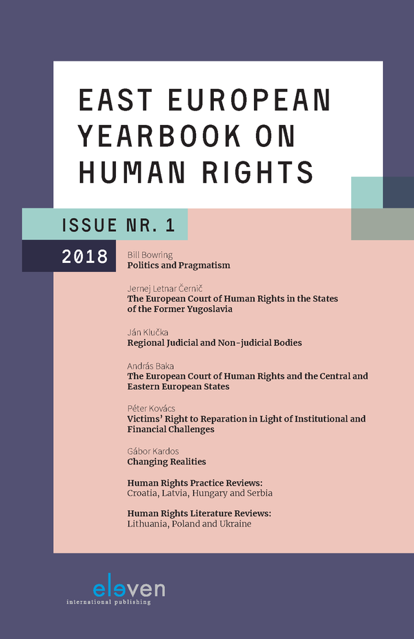 East European Yearbook on Human Rights (EEYHR)