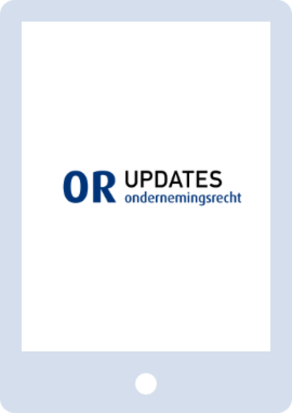 OR Updates - Ondernemingsrecht