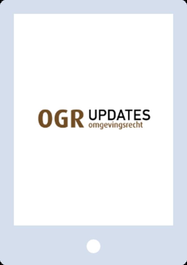 OGR Updates - Omgevingsrecht