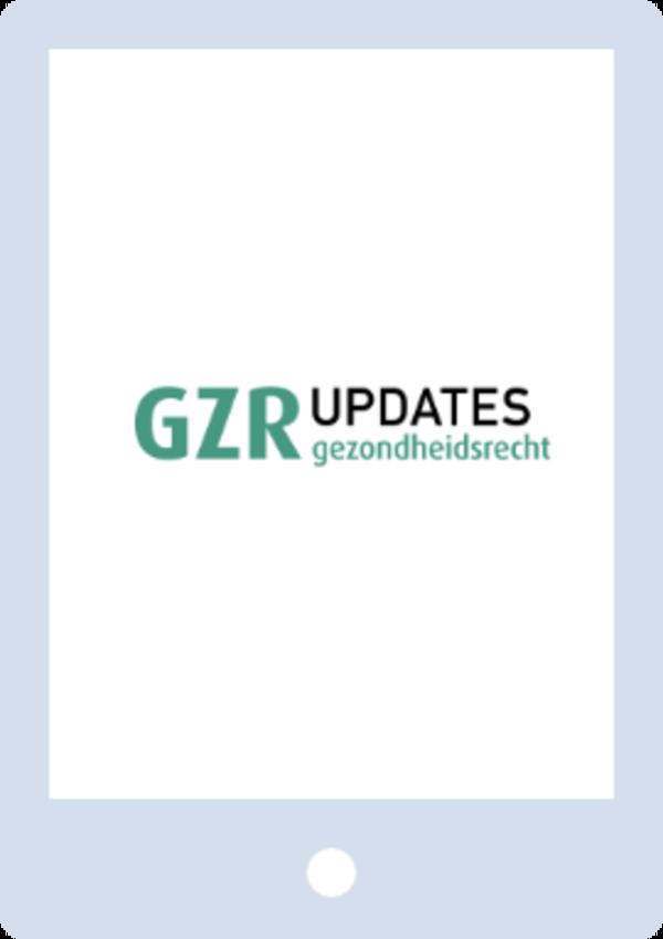 GZR Updates - Gezondheidsrecht