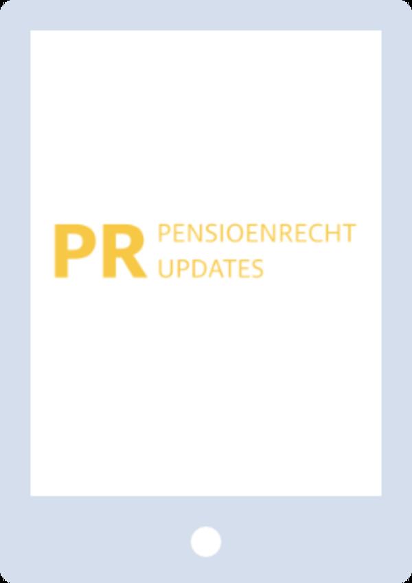 PR Updates - Pensioenrecht